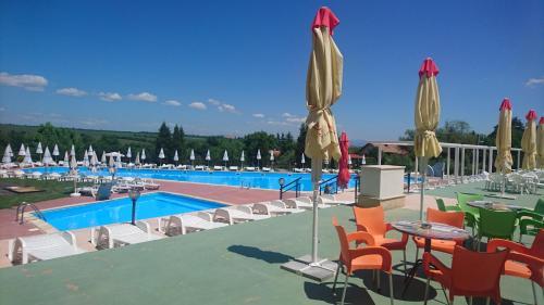 The swimming pool at or near Hotel Bankya Palace