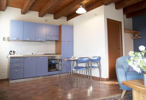 Küche/Küchenzeile in der Unterkunft Agriturismo Principe Pio