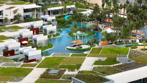 InterContinental Sanya Resort с высоты птичьего полета