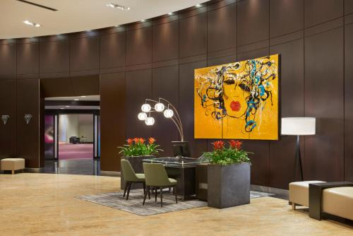 The lobby or reception area at InterContinental Toronto Centre, an IHG hotel