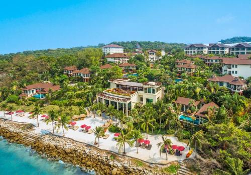 Een luchtfoto van InterContinental Pattaya Resort