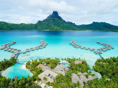 InterContinental Bora Bora & Thalasso Spa a vista de pájaro