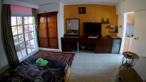 تلفاز و/أو أجهزة ترفيهية في Deluxe Apartment Delta Sharm