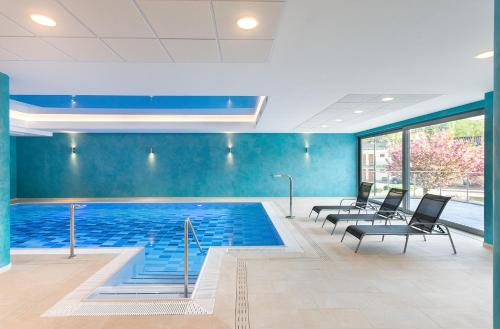The swimming pool at or near Hotel Panorama