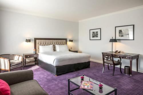 Cama ou camas em um quarto em Sofitel Buenos Aires Recoleta
