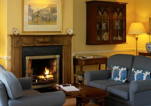 A seating area at The Dunraven, Adare