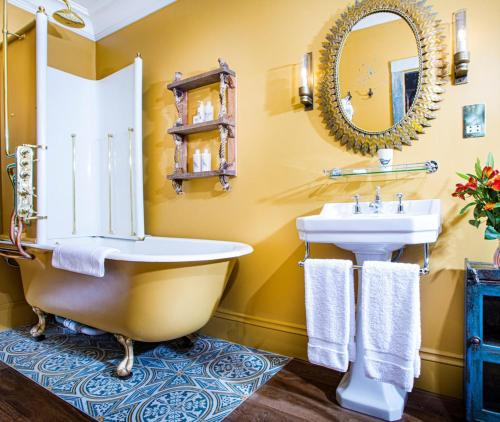 A bathroom at The Portobello Hotel