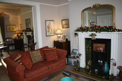 A seating area at Portobello B&B