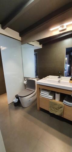 A bathroom at Villa Adler Gay Men Only