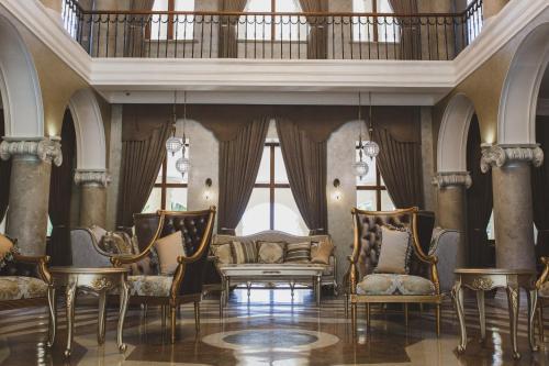 Гостиная зона в Amra Park-hotel & Spa