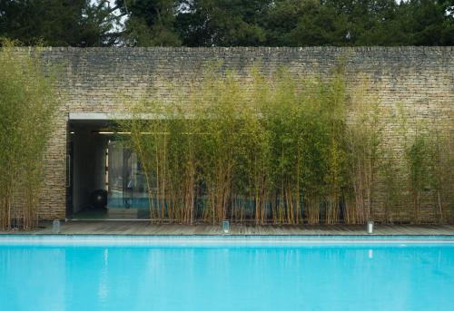 The swimming pool at or close to Cowley Manor Hotel
