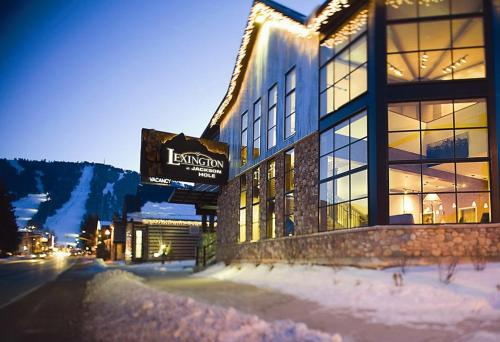 The Lexington at Jackson Hole during the winter