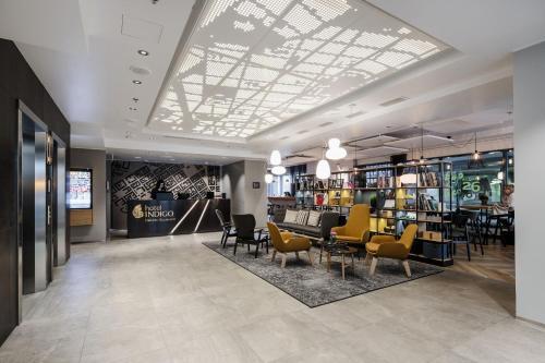 The lobby or reception area at Hotel Indigo Helsinki-Boulevard