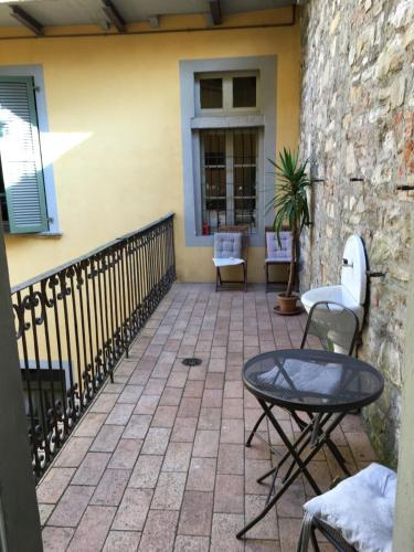 A balcony or terrace at Casa Mario Lupo