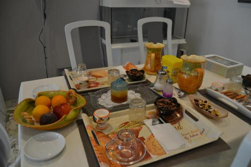 Breakfast options available to guests at B&B Le France Nice Centre