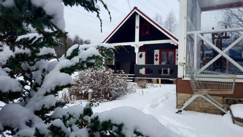 Гостевой дом Богородский зимой