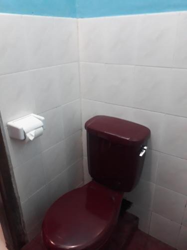 Ein Badezimmer in der Unterkunft Cafe Lava Hostel