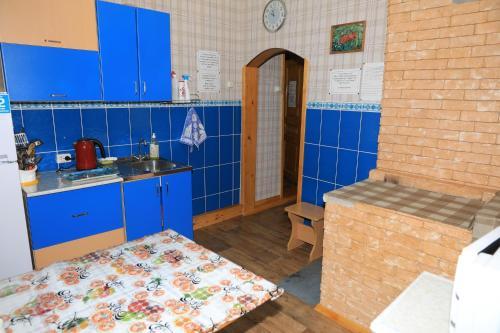 Кухня или мини-кухня в Vulkanolog Guest house