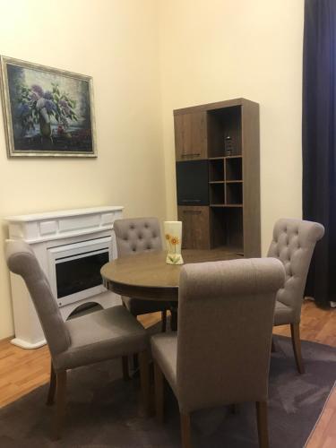 Гостиная зона в Apartment suite Mukachevo