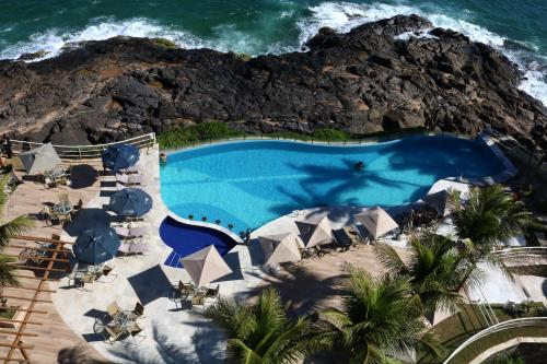 A view of the pool at Mercure Salvador Rio Vermelho or nearby