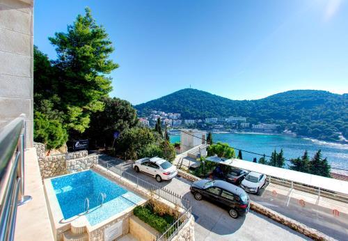Pogled na bazen v nastanitvi Villa Katarina Dubrovnik oz. v okolici