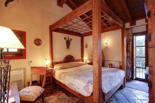 Cama o camas de una habitación en Hotel Amanhavis