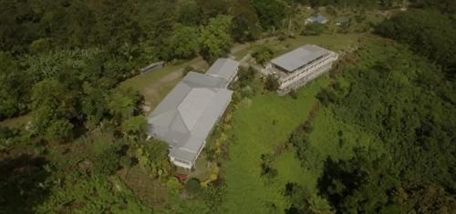 A bird's-eye view of Dave Parker Eco Lodge