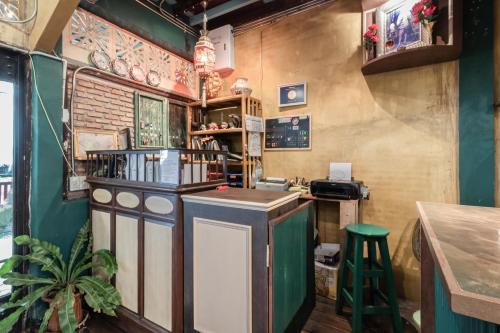 The lounge or bar area at Time Sabai 134