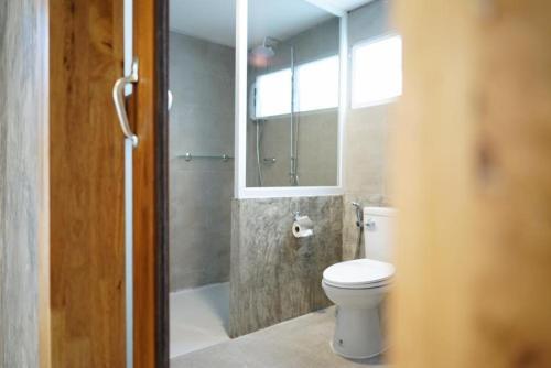 A bathroom at Sabai Nimman