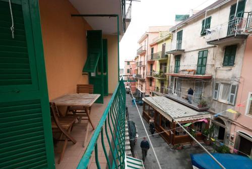 A balcony or terrace at Casa Di Mezzo