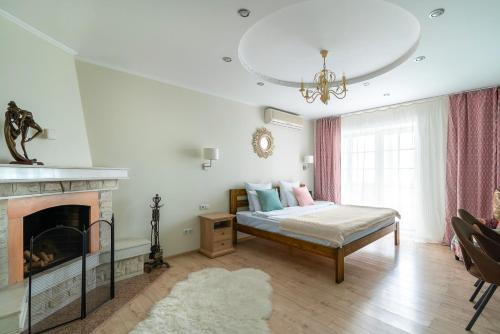 A bed or beds in a room at One Sea Boutique Apartment