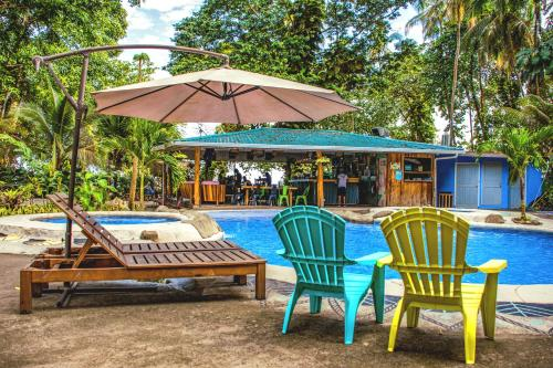 The swimming pool at or near Selina Puerto Viejo