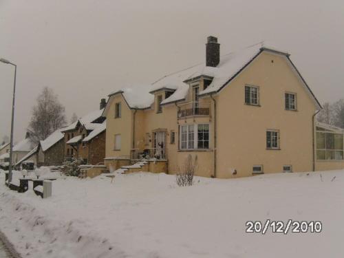 B&B De Boerderij im Winter