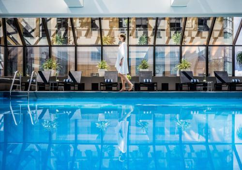 The swimming pool at or near InterContinental Wellington
