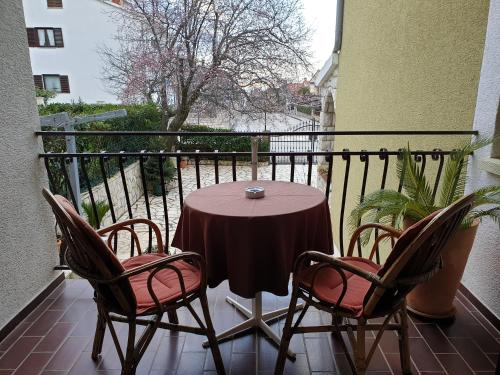 A balcony or terrace at Apartments Boris