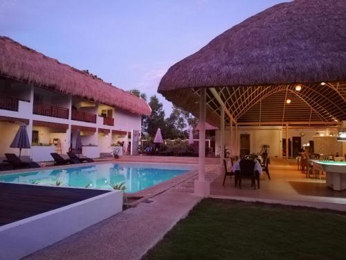 The swimming pool at or near Amihan Resort