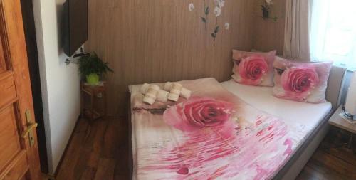 Postel nebo postele na pokoji v ubytování Apartment Hlinská