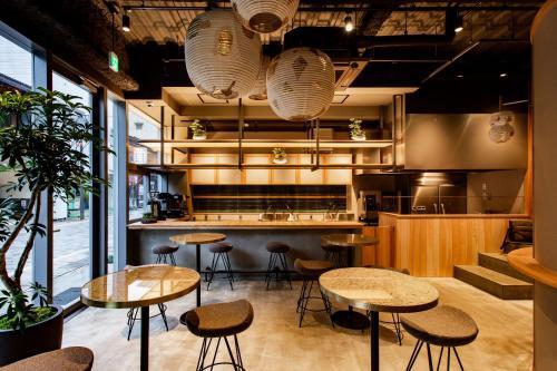 Salon ou bar de l'établissement eph TAKAYAMA