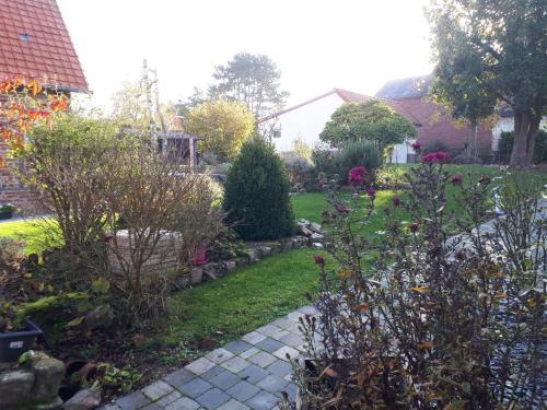 A garden outside L'Aubaine