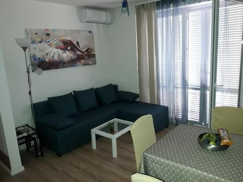 A seating area at Apartman - Sea&Nature - Krk