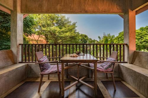 A balcony or terrace at Good Time Sports Resort Koh Mak