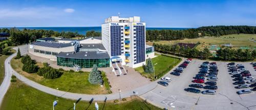 Toila Spa Hotel с высоты птичьего полета