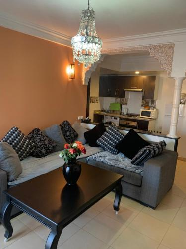 A seating area at Kenza