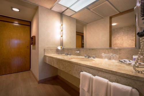 A bathroom at Maksoud Plaza Hotel Distributed by Accorhotels