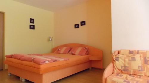 Postel nebo postele na pokoji v ubytování Apartmánová Chalupa Adela