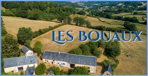 A bird's-eye view of Les Bouaux, Lavena