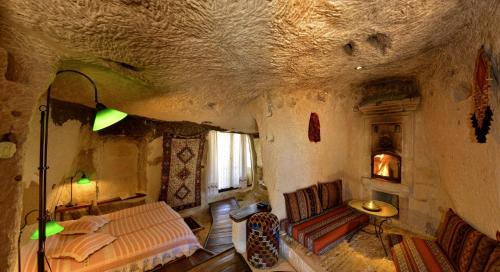 A seating area at Kelebek Special Cave Hotel