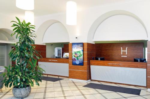 Lobby/Rezeption in der Unterkunft Hestia Hotel Ilmarine