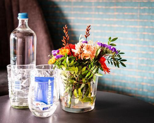 Drankjes bij Hotel Brasserie de Huifkar