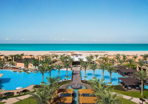 A bird's-eye view of Saadiyat Rotana Resort and Villas